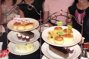 Display Stand 3 Tier Round Chrome High Tea / Catering / Platters
