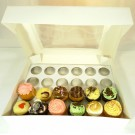 24 Window Cupcake Box ($3.90pc x 25 Units)