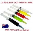 25 units of Jello Syringes (1.5oz 44ml)
