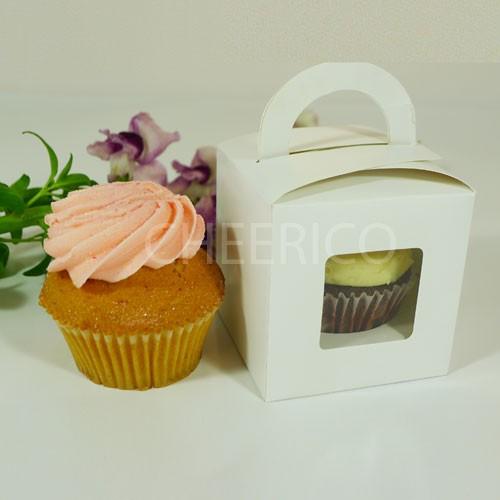 1 Cupcake Window Box with Handle($1.15/pc x 25 units)