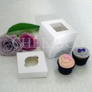 1 Window Mini Cupcake Box ($0.95/pc x 25 units)