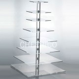 8 Tier  Square Pole Cupcake Stand